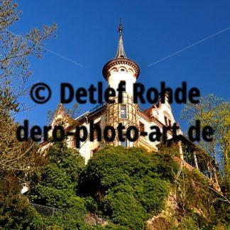 Gattersburg Wohnhaus des früheren Besitzers der Papiermühle und Mäzens Grimmas Schröder - DeRo Photo Art