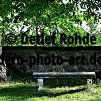 Verlobungsbank im Schlosshofgarten - DeRo Photo Art