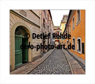 1 Gasse Görlitz (ähnlich Trastevere) - DeRo Photo Art