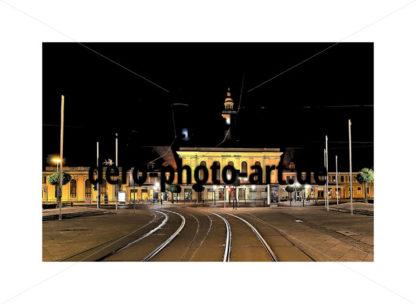 12 Bahnhof Görlitz Nacht - DeRo Photo Art
