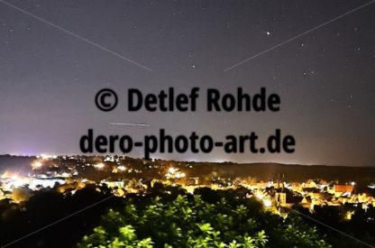 Grimma nachts mit Sternen - DeRo Photo Art