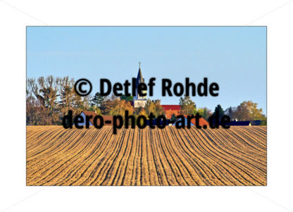 Village behind the field - DeRo Photo Art