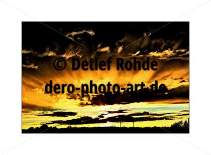sundown - DeRo Photo Art